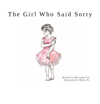 """Book cover for """"The Girl Who Said Sorry"""""""